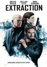 Extraction (DVD) Bruce Willis, Kellan Lutz, Gina Carano NEW