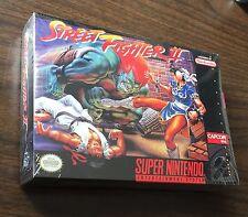 Street Fighter II World Warrior ~ BRAND NEW FACTORY SEALED ~ Super Nintendo SNES