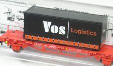 N Container-Tragwagen Lgns Vos Logistics NS Fleischmann aus 931086 K neuw. VP