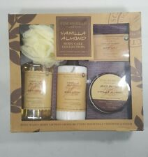 NEW IN BOX 'TUSCAN HILLS' 5 PIECE BODY CARE COLLECTION (Vanilla Almond) NIB