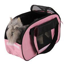 Neu Hundetragetasche Transporttasche Haustier Hundetasche Hund Katze Tasche Rosa