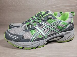 Asics Gel-Venture 4 T383N  Womens Size 9 Trail Running Shoes  Grey/Green (b3