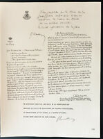 1926 - Litografía Cita Masson,Paul Segers,Renkin. Bélgica Guerra 14/18