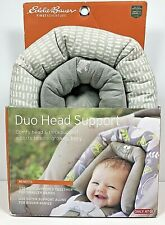 New ListingDuo Head Support Eddie Bauer 2 Piece Newborn/Infant for Car Seats Free Shipping