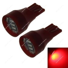 2pcs T15 W16W 912 921 4014 SMD Car 9 LED Wedge Parker Plate Light Bulbs Red 573