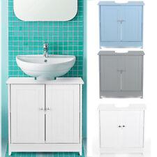 Badmöbel Waschbeckenunterschrank Badezimmerschrank Unterschrank 2-Türen C5E8