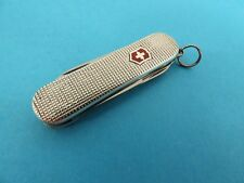 "VICTORINOX, SWISS ARMY, MULTI-TOOL, BARLEYCORN STERLING  SILVER ""CLASSIC"" KNIFE"