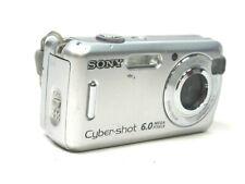 Sony Cyber-shot DSC-S600 6.0MP Digital Camera - Silver Camera Only