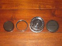 Minolta MC W.Rokkor-HG 35mm F/2.8 MF Lens CLEAN W/ FILTER & CAPS
