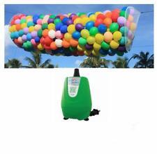 BOSS 1000 Balloon Drop Net and Balloon Buddy Electric Air Inflator