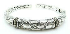 JOHN HARDY Sterling Silver Ladies Cuff Bracelet JAI