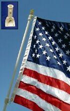 Flagpole Set with 3' x 5' American Flag