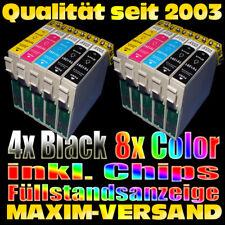10 XXL Tinten-Patronen SET für Epson Stylus Office BX305F W Plus S22 SX125 SX130