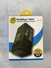 Symtek WorldPlug Hdvc Universal Travel Voltage Converter