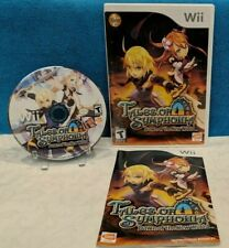 Tales of Symphonia: Dawn of the New World (Nintendo Wii, 2008) Complete & Tested