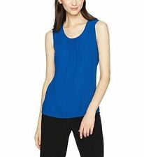 17d31a1baef60 Anne Klein Womens Navy High-low Sleeveless Scoop Neck Casual Top M BHFO 9210