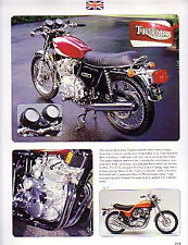 1975 Triumph Trident Motorcycle Article - Must See !!