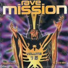 Rave Mission volume 16 - 2cd-NEUF NEUF dans sa boîte-Transe Hard Transe Techno Acid