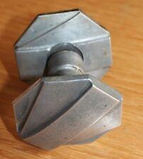 poignée de porte en aluminium  serrure loqué  porte targette   vintage