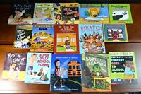Lot 15 HBPB Picture Books about Starting School Kindergarten First Teacher K11