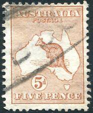More details for australia-1913 5d  chestnut sg 8 average used v27659
