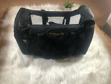 Petmate Soft-Sided Kennel Cab Pet Carrier Black Up to 15lbs