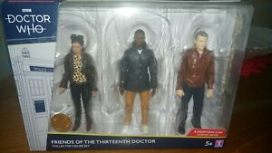 Doctor Who Friends Of The Thirteenth Doctor Collection Action Figure Set New 5+