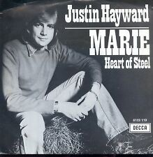 7inch JUSTIN HAYWARD marie RARE DUTCH MOODY BLUES EX +PS 1979