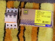 SQUARE D 60182 CIRCUIT BREAKER 30AMP 240V 3 POLE
