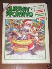 GUERIN SPORTIVO=N°51/52 1982=ITALIA 1982 L'ANNO D'ORO=LE STRENNE DI NATALE