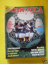 DOMENICA DEL CORRIERE ANNO 88 N. 25 21 GIUGNO 1986