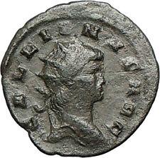 GALLIENUS son of Valerian I RARE  Ancient Roman Coin SALUS  HEALTH Cult  i24726