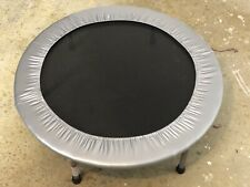 Stamina 36-Inch Silver Folding Exercise Trampoline Trainer with 36 Inch Diameter