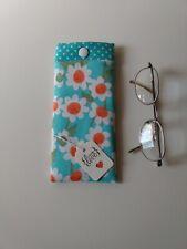 Glasses Case/Pouch Handmade In Designer Fabric Lovely Gift New.