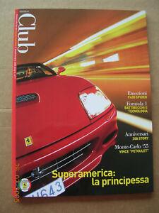 revue magazine FERRARI club Italia 2005 - Italian text