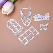 Door Window Glory Dies Metal Cutting Stencils For Scrapbooking Cardsor Paper Pop