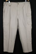5.11 Tactical Series Mens Beige Cargo Pants Sz 42 x 30