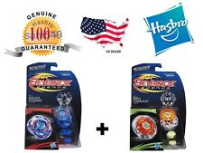 HASBRO BEYBLADE LEGENDS BB-70 GALAXY PEGASUS + HASBRO BB-59 BURN FIREBLAZE USA