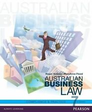 Australian Business Law Compliance and Practice 7 Th Ed by Vickery Flood