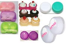 Etui  lentilles de contact case lenses différents modèles et accessoires