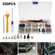 More details for 330pcs computer screw case kit standoff assortment for fan hard disk motherboard