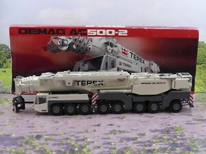 Conrad 2098 Demag AC500-2 Crane 1:50 scale Diecast vgc boxed READ DESCRIPTION