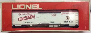 Lionel 6-9850 Budweiser Reefer Car O Scale
