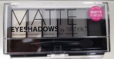 TECHNIC - MATTE SMOKEY - 6 Shade Eyeshadow Palette - BLACK - GREY - 25503