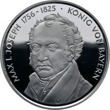 MEDAGLIA Max I. Joseph 200 anni Unito Baviera Argento PP (9103)