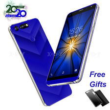 "5.5"" Unlocked WIFI Dual SIM Android 8.1 Smartphone 3G Quad Core Mobile Phone GPS"