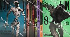 Ajin Demi-human  (v. 1 - 10) English Manga Graphic Novels Set NEW
