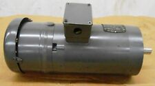 BALDOR INDUSTRIAL AC MOTOR, VBM3554T, 1.5 HP, STEARNS BRAKE, 105603100BPF