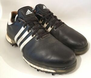 Adidas Tour 360 Boost 2.0 Black Golf Shoes Trainers Size UK 9