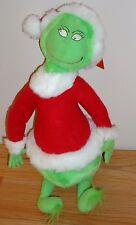 """Hallmark Dr. Seuss How the Grinch Stole Christmas 16"""" plush w/Tag 1998 santa"""